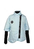 Куртка для девочки  587 весна-осень, размеры 122-140, возраст 6-10 лет, фото 1