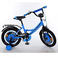 Двухколесный велосипед PROFI 14 дюймов Y1444 Original boy синий