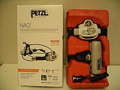 Сверхмощный, перезаряжаемый мультилучевой налобный фонарь PETZL NAO