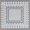 Трафарет BGA nVidia N10P-GE1, G96-630-A1, G96-600-A1 0.5mm