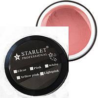 Гель Starlet Professional трехфазный Yellow Pink 15 мл, плотный беж