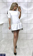 Женское  платье с фатином, фото 1