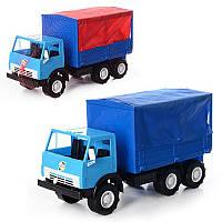 Камаз 488 450x190x255 мм, детский грузовик, детская машинка, игрушка, игрушечный камаз