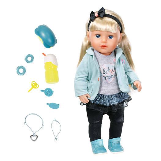 Лялька Zapf Baby Born Кукла Zapf Baby Born Сестренка Модница 43 см с аксессуарами