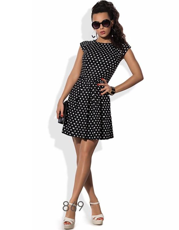 Жаккардовое платье коктейль