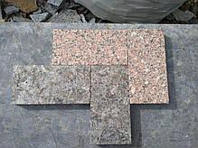 Пилено-термообработанная гранитная брусчатка 200х100х30 мм. ЛАБРАДОРИТ, фото 3