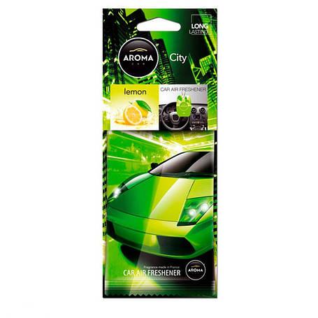 Ароматизатор Aroma Car City Lemon, фото 2