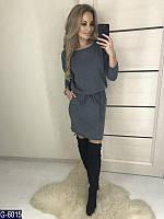 Женское платье короткое теплое ангоровое, фото 1