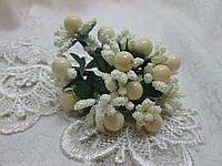 Декоративні тичинки з ягідками