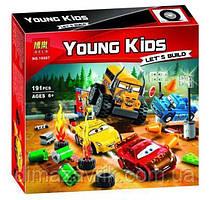 """Конструктор Bela 10687 (Аналог Lego Juniors 10744) """"Сумасшедшая восьмерка"""" 191 деталей"""