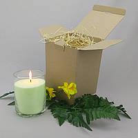 Подарочный набор лимонная насыпная свеча 15 см