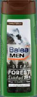 Мужской гель для душа 3в1 с пряным древесным ароматом  Balea Men 3 in 1  300 мл