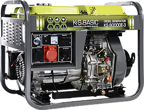 Генератор дизельный  Konner&Sohnen BASIC KS8000DE-3