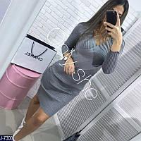 Женское платье рубчик, фото 1