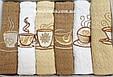 Набор вафельных кухонных полотенец 40*60 см, Calista 6 шт., Турция, фото 3