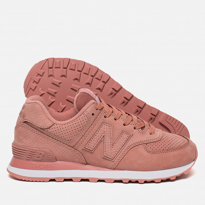 separation shoes 00b37 bc177 Женские кроссовки New Balance WL574URT Serpent Luxe Dusted Peach