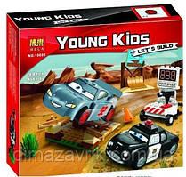"""Конструктор Bela 10685 (Аналог Lego Juniors 10742) """"Тренировочный полигон Вилли Бутта"""" 99 деталей"""