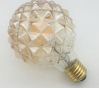 "Лампа Эдисона светодиодная 4Вт G95 шар ""пирамида"", фото 1"