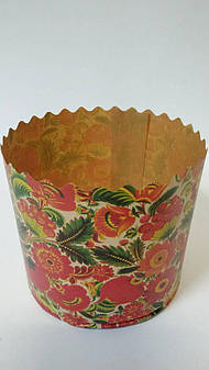 Бумажная форма для выпечки пасхи, d - 90