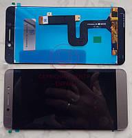 Дисплей модуль LeEco Le Pro 3 (X722) / Coolpad S1 C105 в зборі з тачскріном, золотистий
