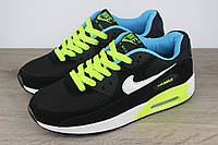 Кроссовки Nike Air Max 90 Black Green (реплика)