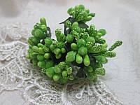 Декоративні тичинки, салатовий