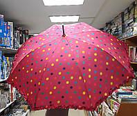 Зонт женский Трость Горох 1392 79688 Китай