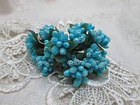 Декоративні тичинки, яскраво-бірюзовий