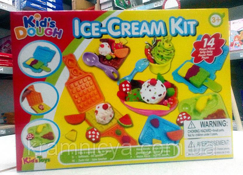 Тесто для лепки. Набор для детского творчества 'Мороженое'