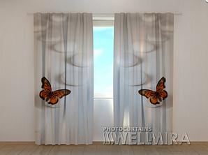 """Фото шторы """"Бабочка"""" 250 х 260 см"""
