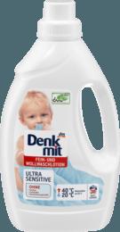 Бесфосфатный гель для стирки детского деликатного белья Denkmit Ultra Sensitive  1500 мл
