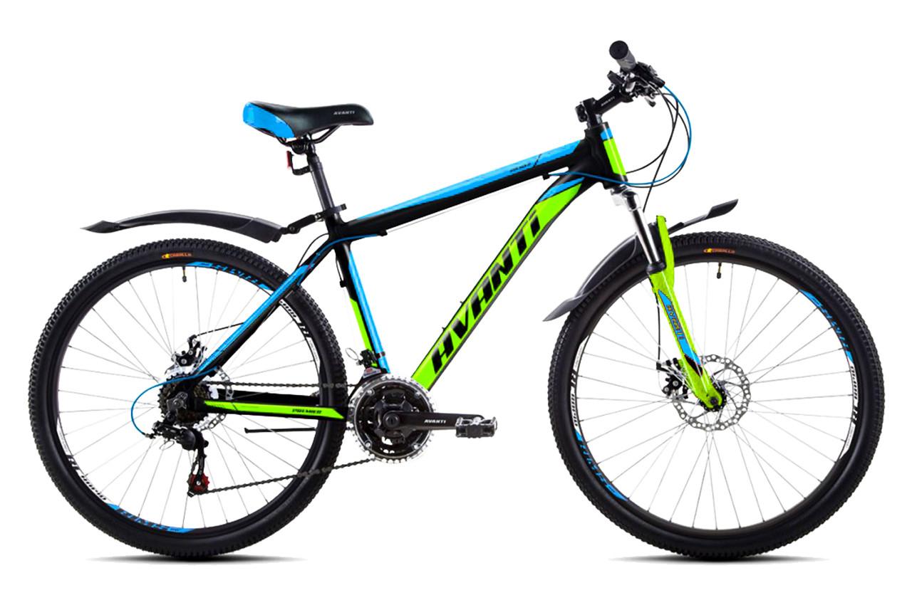 """Горный велосипед  AVANTI  PREMIER 26"""" 19"""" Черный / Зеленый"""