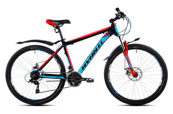 """Горный велосипед  AVANTI  PREMIER 26"""" 19""""   Черный / Красный"""