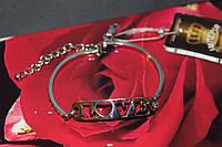 Браслет серебряный 925 пробы женский LOVE