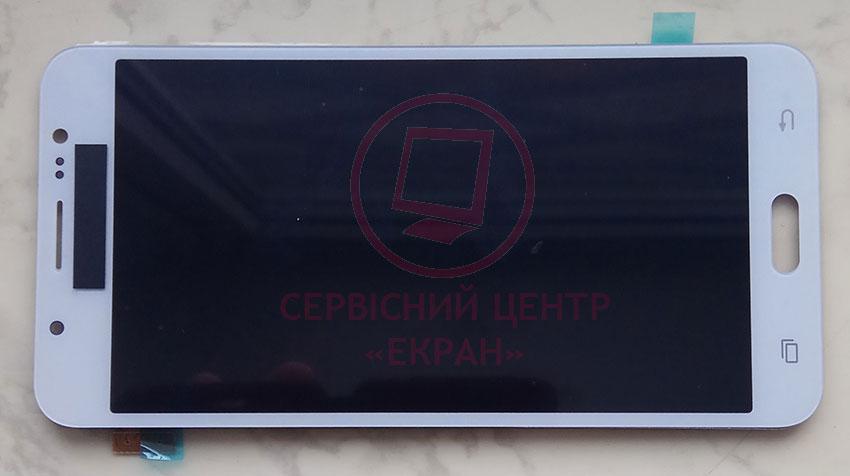 Дисплей модуль Samsung J710F/DS Galaxy J7 (2016) в зборі з тачскріном, білий