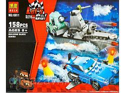 """Конструктор Bela 10011 (Аналог Lego 8426 Тачки) """"Морской побег""""158 деталей"""