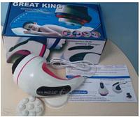 Массажер для тела Great King, ручной вибрационный массажер