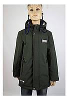 Куртка для мальчика  6-770 весна-осень, с наушниками, на рост от 134(36) до 158(44) возраст от 7 до 12 лет