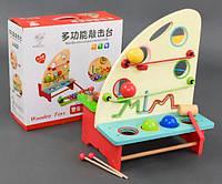Деревянная игрушка Ксилофон-Стучалка С 23051