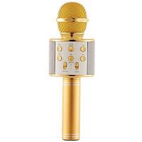 Bluetooth микрофон-караоке с колонкой беспроводной