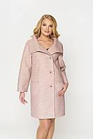 Демисезонное пальто с воротником стойка, фото 1