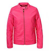 Кожаная куртка для девочек Glo-Story, размеры 134/140-170 , арт. GPY-5817
