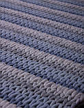 Ковер NOR-Knit-Blue-Grey (170х240 см) Индия