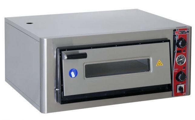 Печь электро для пиццы SGS РО 9262 Е с термометром