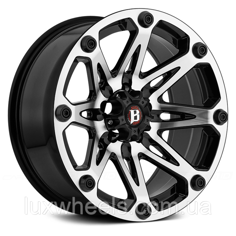 BALLISTIC JESTER Gloss Black with Machined Face