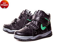 Модные высокие ботинки для мальчика(р33-38)