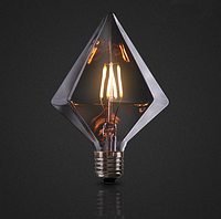 Дизайнерская лампа Эдисона светодиодная 4Вт D110 треугольник, фото 1