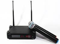 Радиосистема Shure DM SLX, беспроводной микрофон Shure, вокальная радиосистема, микрофон ручной