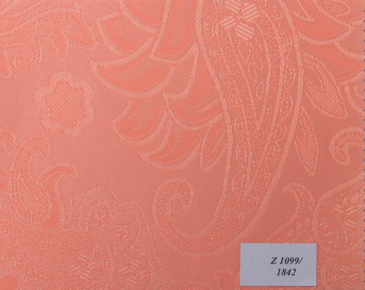 Рулонні штори Тканина Арабеска 1842 Рожевий