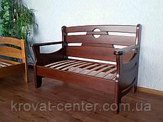 """Кухонный диван - малютка """"Луи Дюпон - 2"""" (1250*650мм). Массив - сосна, ольха, береза, дуб."""